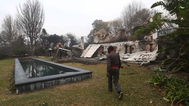 Pożary zniszczyły wiele domów na południu RPA