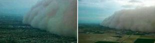 Piaskowy gigant uderzył w Phoenix