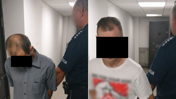 Policja zatrzymała dwóch mężczyzn  ksp