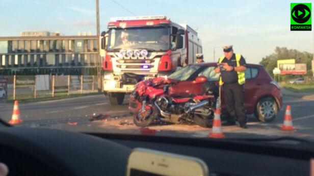 Wypadek w Piasecznie  gosiage, Kontakt 24