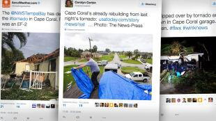 Tornado na zachodzie Florydy spowodowało poważne zniszczenia