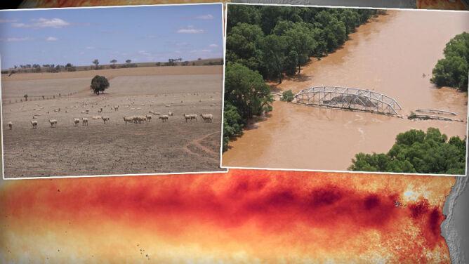 Australijscy meteorolodzy: koniec El Nino. <br />Było najsilniejsze od 20 lat