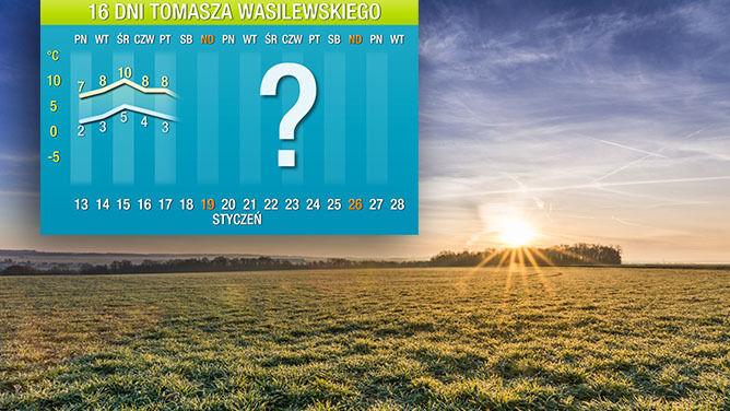 Pogoda na 16 dni: <br />marzec w połowie stycznia