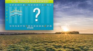 Prognoza pogody na 16 dni: marzec w połowie stycznia