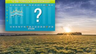 Pogoda na 16 dni: marzec w połowie stycznia