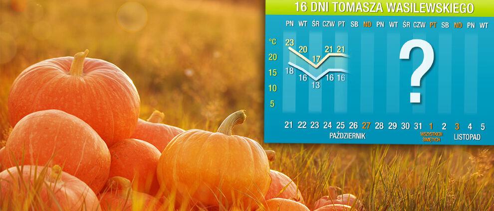 Prognoza pogody na 16 dni:<br>duże ochłodzenie dopiero pod koniec miesiąca
