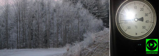 W Polsce jest bardzo zimno. Nocą temperatura spadła do -21 st. C