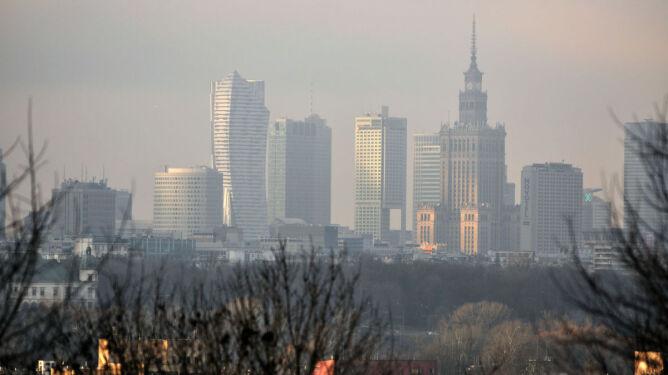Smog jest również w Warszawie