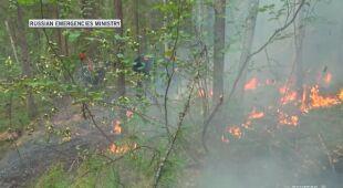 Ogień trawi Syberię