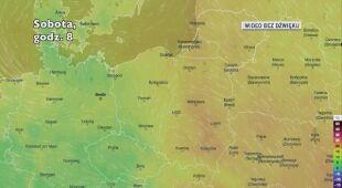 Prognozowana temperatura w najbliższych dniach